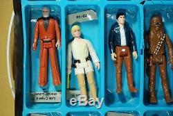 12 VINTAGE Star Wars ACTION FIGURES LOT SPACE CASE KENNER figure