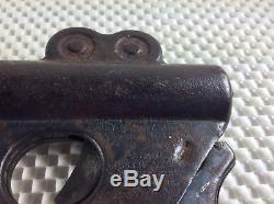 1934 Buck Rogers Daisy Pop Lazer Pistol Vintage Cast Toy Guns Cap Guns USA Daisy