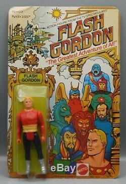 1979 vintage Mattel FLASH GORDON cartoon action figure doll toy MOC Filmation