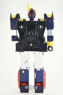 1980 Nomura Toy Space Warrior Baldios Triple Cross Die-cast Vintage Japan