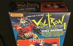 1984 VEHICLE VOLTRON SPACE WARRIOR vehicles DAIRUGGER XV MATCHBOX 1984 vintage