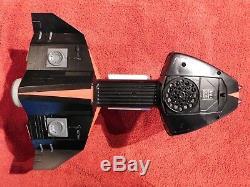 2 X Vintage Milton Bradley SB-450 Electronic Star Bird Toy Space Ship withGUN