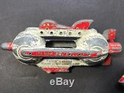 3pc Lot vintage die cast Buck Rogers toys- Flash Blast Attack Ship Battlecruiser