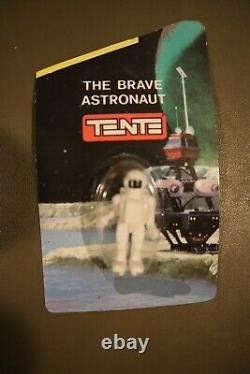 43 VINTAGE Tente The Brave Astronaut Action Figure Toy Space Construction Toys