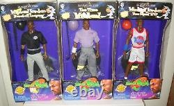 #8072 Vintage Playmates Space Jam 3 Michael Jordan Figures & 2 McDonalds Toys