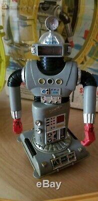 Antique game zeroid action set 1969 ideal robot play set vintage rare
