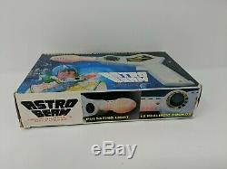Astro Beam Laser Ray Gun Space Toy Pistol Blaster Weapon with Box Working 60s VTG
