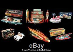 Bergintoys Catalog 700+ Vintage Toys Tin Bo Robots Vehicles Character Bin $10.00