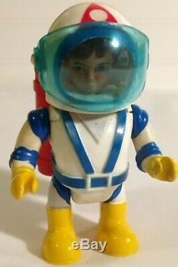 Billy Blastoff Vintage Toy (5) piece Lot Eldon Japan 1968 Rare Space Toys