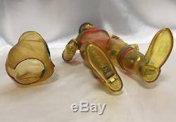 Bullmark CLEAR Triple Fighter removable mask 12.5 vintage Japanese sofubi vinyl
