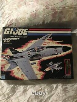 CONQUEST X-30 Mib In sealed BOX 1986 GI JOE VINTAGE action man, space rangers