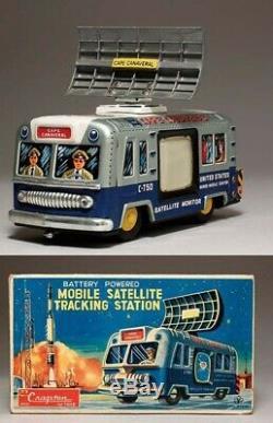 Cragstan Yonezawa mobile satellite tracking station Tin Japan made vintage Japan