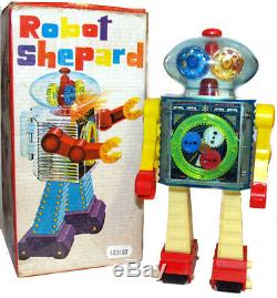 Crystal Robot See Thru Robot Shephard Vintage Space Toy