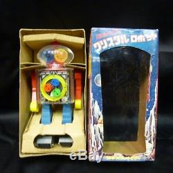 Crystal robot 21 century space series Yonezawa with box vintage rare from Japan