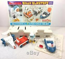 Eldon Billy Blastoff Space Scout Walking 1970 Billingual Japan Box Works VTG