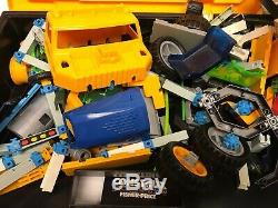 Fisher Price Construx Lot Wheels 12+ lbs connectors Building System Updated