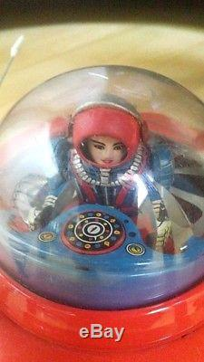 Flying Sauce KO Made in Japan vintage tin toy Flying-Saucer