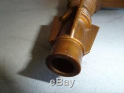 GREECE ALFA TOYS Vintage Greek SPACE FLAME RAY GUN No 50 ORIGINAL BOX 1970 Rare