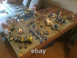 Giant LEGO Vintage Classic Space Collection. No boxes or instructions