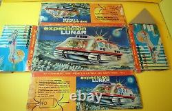 Giant Space Ship NASA Lunar Expedition Modern Toys by EGE Spain vintage boxed