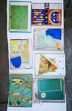 Greek antique vintage toys old table games space disney 1950's complete