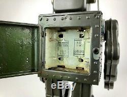 HORIKAWA -FIGHTING ROBOT- VINTAGE 1960's JAPANESE MASUDAYA TIN PLATE SPACE TOY