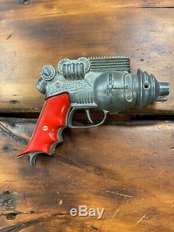 HUBLEY ATOMIC DISINTEGRATOR vintage 1950's scifi space cap ray gun