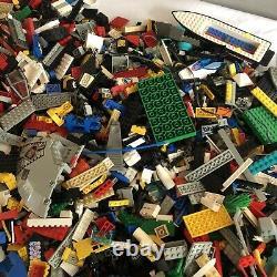 HUGE LEGO Vintage System Job Lot Bundle Star Wars Town Space Bulk Parts 10.7 KG