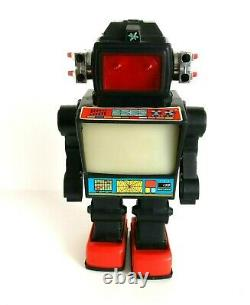 Hc Horikawa Sh Yonezawa Cragstan T. V. Robot Plastic Vintage Retro Space Toy 1978