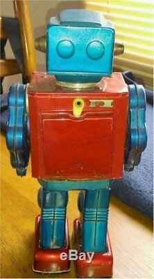 Horikawa Attack Robot Vintage WORKING Space Robot 1962