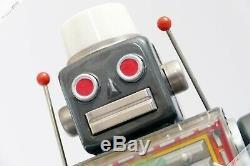 Horikawa Sh Masudaya Yoshiya Machine Robot Gear Tin Japan Vintage Space Toy