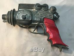 Hubley Atomic Disintegrator vintage 1950's scifi space cap ray gun! WWII RARE
