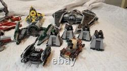 Huge Lego Star Wars LOT (20+) Vintage Sets Furry-Class, A-Wing, Starfighter etc