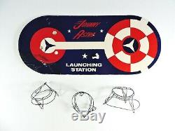 JOHNNY ASTRO Full Spacecraft Control LUNA 3 Topper Toys WORKS vintage 1960s box
