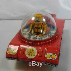 Japanese vintage Tin toy, SPACE TANK, 15 x 9 cm, Made by YOSHIYA