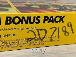 LEGO 1476 5 Item Bonus Pack 1477 1479 1478 1480 1481 Knight MTron Blacktron MISB