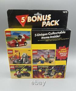 LEGO 1476 Value 5 Bonus Pack 1477 1479 1478 1480 Sealed RARE New MTron Blacktron