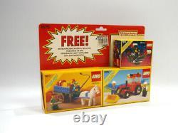 LEGO 1675 LEGOLAND Triple Pack Town Castle Space Vintage MISB! Fedex Shipping
