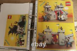 LEGO 320 SETS VINTAGE CREATOR KNIGHTS PIRATES TECHNIC MODEL TEAM SPACE etc