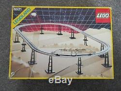 LEGO 6921 Space Set Space Monorail Train Accessory Track WithInstructions Vintage