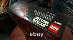 LEGO 75059 Star Wars Sandcrawler BNIB Creased Box