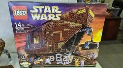 LEGO 75059 Star Wars Sandcrawler mint UCS with extra RA 7 Droid minifigure