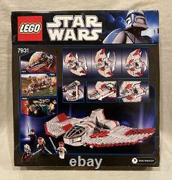 LEGO 7931 Star Wars Jedi T-6 Shuttle Clone Wars NEW SEALED Retired