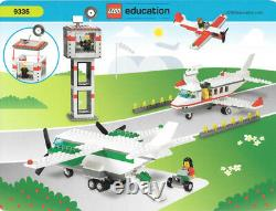 LEGO 9335 Space Airport Rocket Saturn Shuttle Education Set New Sealed