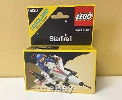 LEGO MINT SEALED SET Vintage Legoland Classic Space 6820 Starfire I 80's