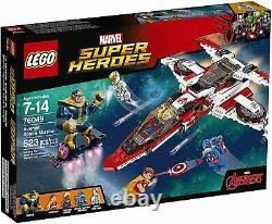 LEGO Marvel Super Heroes Avenjet Space Mission (76049) (NISB)
