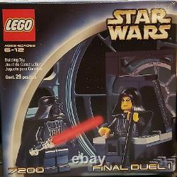 LEGO STAR WARS FINAL DUEL 1 (7200) New Unopened/sealed VINTAGE 29 PCS