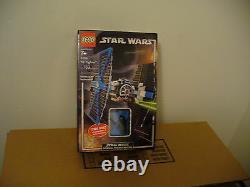LEGO STAR WARS Tie Fighter Darth Vader Set 7263 New Sealed LightUp Vader Minifig