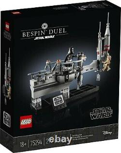 LEGO Star Wars 40th Anniversary Bespin Duel Set #75294 Cloud City Duel