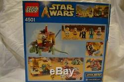 LEGO Star Wars 4501 Mos Eisley Cantina Blue Box Rare 2003 100% Complete withInstr